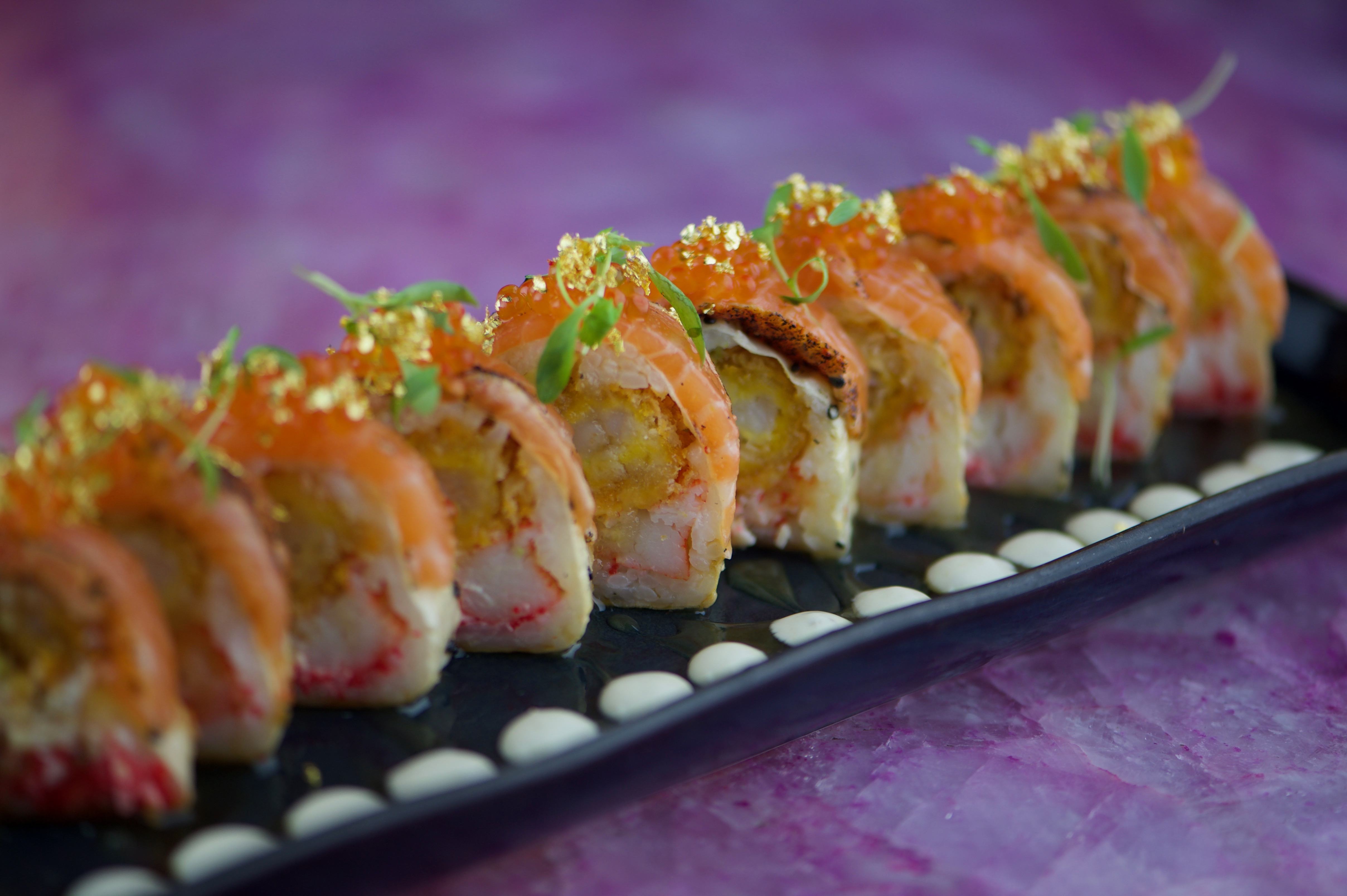 image of sushi roll